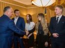 STUDENTII MASTERANZI DIN DIASPORA EFECTUEAZA UN STAGIU DE PRACTICA LA PRESEDINTIA R. MOLDOVA