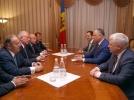 PRESEDINTELE R. MOLDOVA, IGOR DODON, A AVUT O INTREVEDERE CU O DELEGATIE DE PARLAMENTARI DIN TURCIA