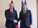 PRESEDINTELE REPUBLICII MOLDOVA A AVUT O INTREVEDERE DE LUCRU CU PRESEDINTELE FRANTEI