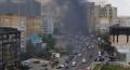 UN NOU INCENDIU IN CAPITALA: ARDE SI UN CENTRU COMERCIAL DIN STRADA ISMAIL