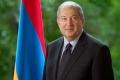 MESAJ DE FELICITARE ADRESAT PRESEDINTELUI REPUBLICII ARMENIA, ARMEN SARKISSIAN