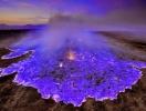 Singurul vulcan care erupe cu lava albastra. Explicatia din spatele fenomenului bizar si spectaculos