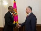 IGOR DODON A AVUT O INTREVEDERE DE LUCRU CU AMBASADORUL SUA IN REPUBLICA MOLDOVA