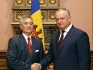 IGOR DODON A AVUT O INTREVEDERE CU AMBASADORUL REPUBLICII SOCIALISTE VIETNAM IN R. MOLDOVA