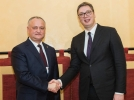 """PREŞEDINTII R. MOLDOVA SI SERBIEI AU FOST UNANIMI PRIVIND NECESITATEA PROMOVARII UNEI POLITICI DE """"COMPATIBILITATE"""""""