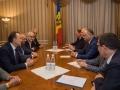 PRESEDINTELE REPUBLICII MOLDOVA A AVUT O INTREVEDERE CU PRESEDINTII CAMERELOR DE COMERT SI INDUSTRIE DIN TARILE CSI