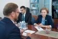 DELEGATIA REPUBLICII MOLDOVA CONDUSA DE CATRE ZINAIDA GRECEANII A AVUT O INTREVEDERE CU KONSTANTIN KOSACIOV