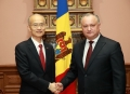 PRESEDINTELE IGOR DODON A AVUT O INTREVEDERE CU AMBASADORUL EXTRAORDINAR SI PLENIPOTENTIAR AL REPUBLICII POPULARE CHINEZE IN REPUBLICA MOLDOVA