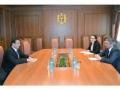 VICEMINISTRUL DE EXTERNE ANDREI GALBUR A AVUT O INTREVEDERE CU SEFUL OFICIULUI CONSILIULUI EUROPEI LA CHISINAU