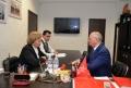 ZINAIDA GRECEANII S-A INTILNIT CU AMBASADORUL FEDERATIEI RUSE