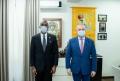 Igor Dodon, presedintele PSRM, a avut o intrevedere cu Dereck J. Hogan, ambasadorul SUA