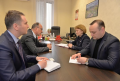 ZINAIDA GRECEANII S-A INTILNIT CU AMBASADORUL EXTRAORDINAR SI PLENIPOTENTIAR AL ROMANIEI IN REPUBLICA MOLDOVA