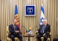 PRESEDINTELE R. MOLDOVA A AVUT O INTREVEDERE CU PRESEDINTELE ISRAELULUI