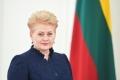 PRESEDINTELE REPUBLICII MOLDOVA, DOMNUL IGOR DODON A TRANSMIS UN MESAJ DE FELICITARE DOAMNEI DALIA GRYBAUSKAITE, PRESEDINTELE REPUBLICII LITUANIA