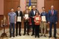 UN GRUP DE MOTOCICLISTI MOLDOVENI AU PRIMIT DIPLOMA DE ONOARE A PRESEDINTELUI R. MOLDOVA