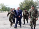 Igor Dodon, comandantul suprem al Fortelor Armate, a efectuat o vizita de lucru pe poligonul de la Bulboaca