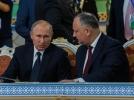 PRESEDINTELE R. MOLDOVA, IGOR DODON A AVUT O INTREVEDERE DE LUCRU CU PRESEDINTELE FEDERATIEI RUSE, VLADIMIR PUTIN