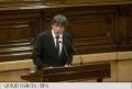 CATALONIA: PRESEDINTELE SEPARATIST TEMPORIZEAZA O DECLARARE A INDEPENDENTEI SI EVOCA INCEPEREA UNUI DIALOG