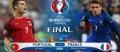 EURO 2016. AVANCRONICA FINALEI FRANTA - PORTUGALIA