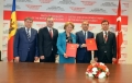 PSRM A SEMNAT ACORDUL DE COOPERARE CU PARTIDUL JUSTITIEI SI DEZVOLTARII DIN TURCIA