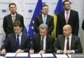 SEMNAREA LA BRUXELLES A UNUI ACORD TRIPARTIT ASUPRA LIVRĂRII DE GAZ RUSESC CĂTRE UCRAINA ÎN ACEASTĂ IARNĂ