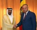 Presedintele Dodon a avut o intrevedere cu o delegatie  din Emiratele Arabe Unite