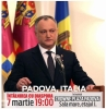 MOLDOVENII DIN ITALIA, INVITATI LA DISCUTIE CU IGOR DODON, LA PADOVA