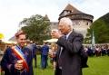 Liechtenstein a implinit 300 de ani. Printul Hans-Adam II a iesit la bere cu supusii sai