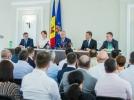 PRESEDINTELE REPUBLICII MOLDOVA L-A PREZENTAT CORPULUI DE PROCURORI PE PROCURORUL GENERAL INTERIMAR