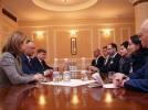 PRESEDINTELE REPUBLICII MOLDOVA SI PRIMA DOAMNA AU AVUT O INTREVEDERE CU PRESEDINTELE FEDERATIEI ECVESTRE DIN FEDERATIA RUSA