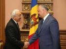 IGOR DODON A AVUT O INTREVEDERE CU AMBASADORUL STATULUI QATAR IN R. MOLDOVA