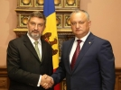PRESEDINTELE R. MOLDOVA A AVUT O INTREVEDERE CU AMBASADORUL POLONIEI