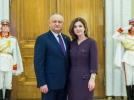 PRESEDINTELE REPUBLICII MOLDOVA A PARTICIPAT LA RECEPTIA OFERITA CORPULUI DIPLOMATIC