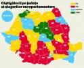 Rezultatele finale ale alegerilor europarlamentare din Romania. PNL a cistigat detasat