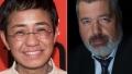 Premiul Nobel pentru Pace a fost cistigat de jurnaliștii Maria Ressa si Dmitri Muratov