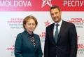 ZINAIDA GRECEANII A AVUT O INTREVEDERE CU NOUL SEF AL OFICIULUI CONSILIULUI EUROPEI IN MOLDOVA