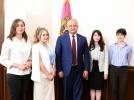 STUDENTI MASTERANZI DIN DIASPORA EFECTUEAZA UN STAGIU DE PRACTICA LA PRESEDINTIA REPUBLICII MOLDOVA