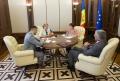 PRESEDINTELE PARLAMENTULUI A AVUT O INTREVEDERE CU AMBASADORUL UNGARIEI IN REPUBLICA MOLDOVA