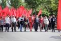 """SOCIALIŞTII AU ADUNAT PESTE 10 MII DE PERSOANE LA MARŞUL """"PENTRU MOLDOVA ÎN UNIUNEA VAMALĂ"""""""