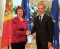LEANCĂ ŞI ASHTON AU DISCUTAT AGENDA EUROPEANĂ A MOLDOVA