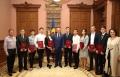 UN GRUP DE ELEVI SI STUDENTI AU PRIMIT DIPLOMA DE ONOARE A PRESEDINTELUI R. MOLDOVA