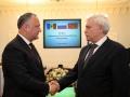 PRESEDINTELE R. MOLDOVA, IGOR DODON, A AVUT O INTREVEDERE CU GUVERNATORUL SANKT PETERSBURGULUI, GHEORGHI POLTAVCENKO