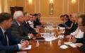 PRESEDINTELE R. MOLDOVA A AVUT O INTREVEDERE CU DELEGATIA CONSILIULUI EUROPEI, CONDUSA DE SECRETARUL GENERAL, DL THORBJORN JAGLAND