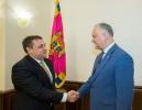 SEFUL STATULUI A AVUT O INTREVEDERE DE LUCRU CU SEFUL MISIUNII DE MONITORIZARE A FMI IN MOLDOVA