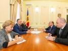 PRESEDINTELE R. MOLDOVA A AVUT O INTREVEDERE DE LUCRU CU AMBASADORUL FEDERATIEI RUSE IN TARA NOASTRA