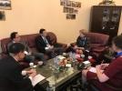 ZINAIDA GRECEANII A AVUT O INTREVEDERE CU DELEGATIA REPUBLICII POPULARE CHINEZE