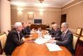 UN PLAN DE COLABORARE A FOST SEMNAT INTRE APARATELE CONSILIULUI DE SECURITATE AL R. MOLDOVA SI R. BELARUS