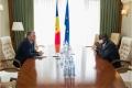 PREMIERUL ION CHICU A AVUT O DISCUTIE CU AMBASADORUL SUA IN R. MOLDOVA