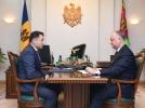 PRESEDINTELE REPUBLICII MOLDOVA A AVUT O INTREVEDERE CU AMBASADORUL REPUBLICII AZERBAIDJAN