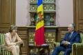 IGOR DODON A AVUT O INTREVEDERE CU JULIA MONAR IN LEGATURA CU INCHEIEREA MANDATULUI DE AMBASADOR IN TARA NOASTRA